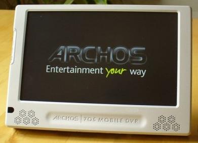 archos 705 wifi